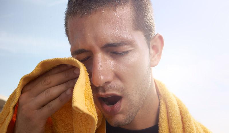 ejercicio calor altas temperaturas