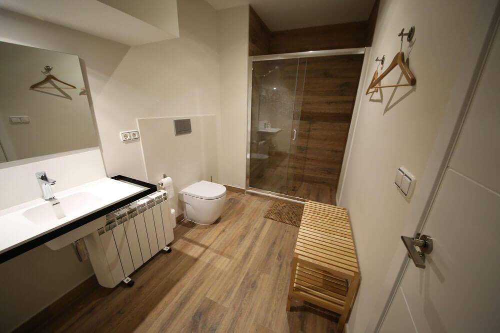 Instalaciones Entrenador personal en Valencia - Cuarto de baño