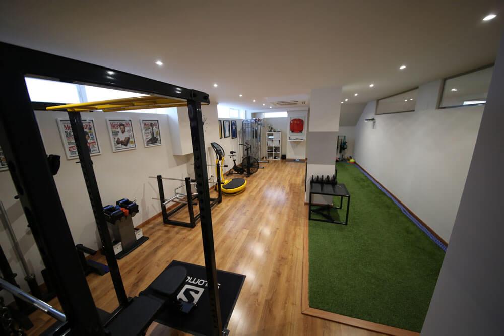 Instalaciones Performa - sala de trabajo entrenadores personales Valencia