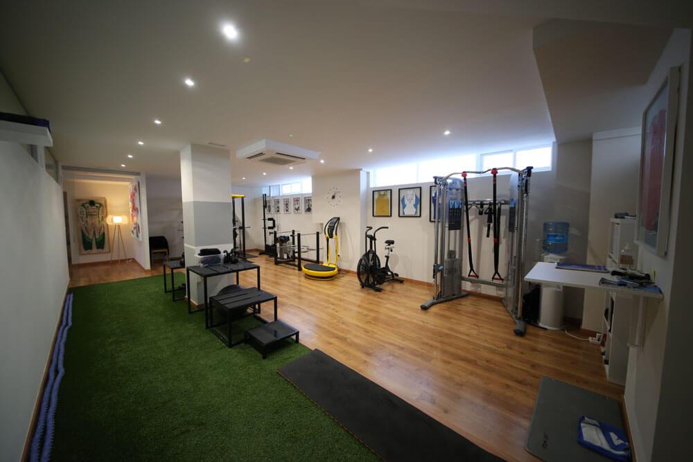 Sala de entrenamiento - Instalaciones Performa Valencia