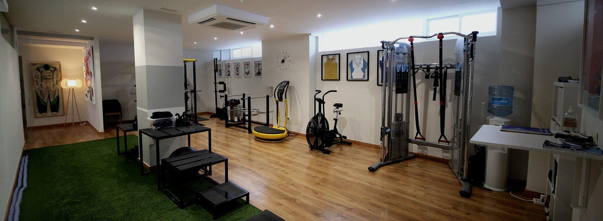 Centro de entrenamiento en Valencia