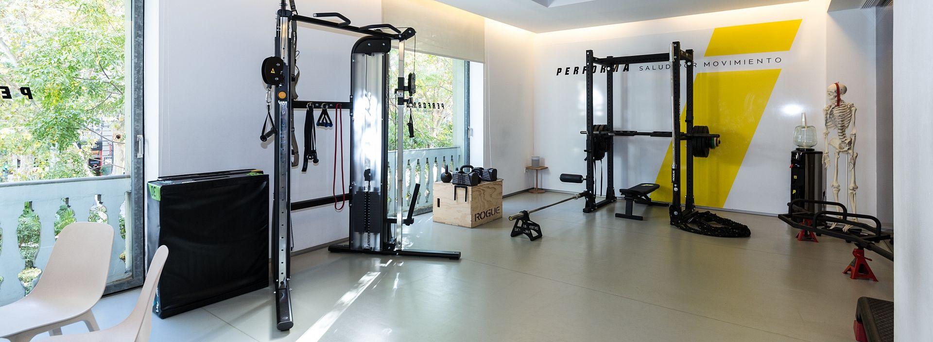 Instalaciones entrenamiento personal Valencia