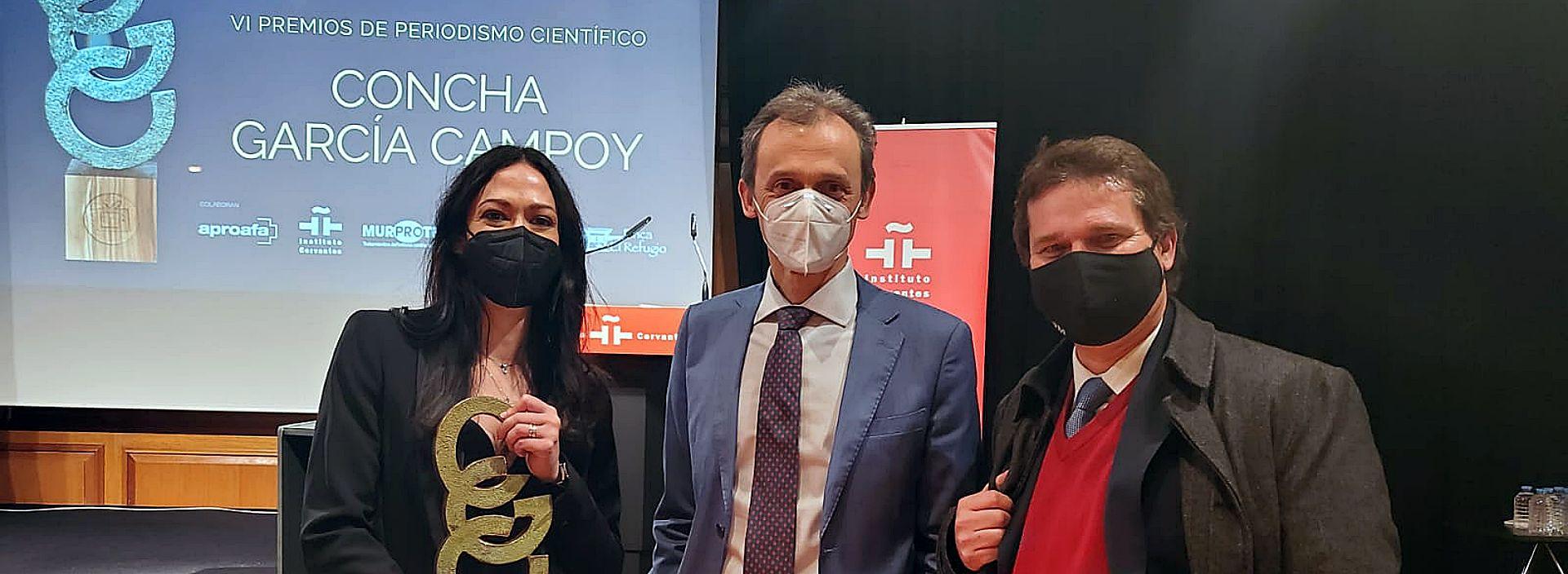 Pedro Duque Premio Concha Garcia Campoy